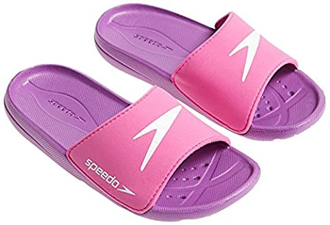 Speedo Atami Core SLD JF Chaussures, Fille, Atami Core Sld Jf, Pink/Purple/White