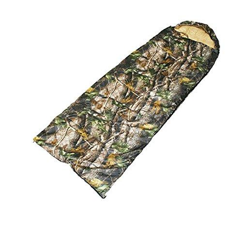BKL1® Angel Schlafsack Camouflage Jagd Outdoor188 x 70 cm 289