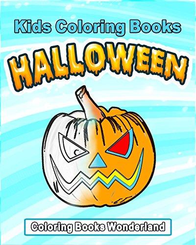 Kids Coloring Books - Halloween (Halloween Activity Printables)