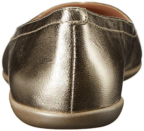 Ballet Nine West Zarong Metallic Flat Light Gold
