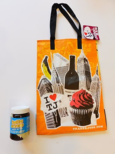 trader-joes-cookies-creme-cookie-butter-141oz-and-ny-style-reusable-shopping-bag-from-bunch-of-chaza