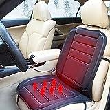 vinmax auto sedile riscaldato cuscino caldo copertura Auto 12V calore Riscaldamento Warmer Pad (Nero)