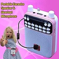 Mr Entertainer Popbox - Altavoz portátil Bluetooth Karaoke, Amplificador de Voz y micrófono para Auriculares