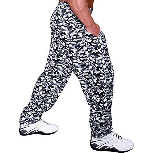 OTOMIX Baggy Gym Pants Grey CAMO XL Otomix Baggy Pants