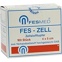 ZELLSTOFFTUPFER FES ZELL 4x5cm hochgebleicht 100 St preisvergleich bei billige-tabletten.eu