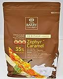Cacao Barry 35% Zéphyr Caramel - Chocolat de Couverture Blanc au Caramel 2,5kg
