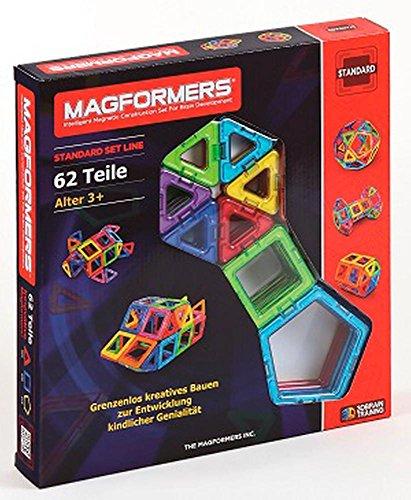 Preisvergleich Produktbild Magformers Standard Set 62-teilig Magnetspiel