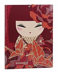 Kimmidoll- Carpeta Folio Gomas con 3 Solapas (SAFTA 561731068)