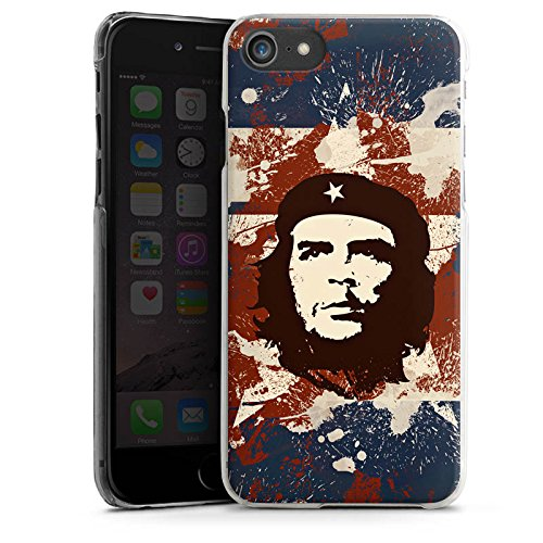 Apple iPhone X Silikon Hülle Case Schutzhülle Che Guevara Revolution Freiheit Hard Case transparent