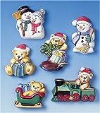 KnorrPrandell Gütermann 2713192 - 6 stampi motivo: Felice Natale