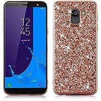HUDDU Handyhülle Samsung Galaxy J6 2018, Glitzer Hülle Diamond Sparkles HandyGlitter Case PC Hard Cover Abdeckung... preisvergleich bei billige-tabletten.eu
