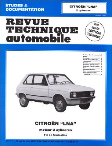 Revue technique Automobile N°396.3  Citroën lna, moteur 2 cylindres