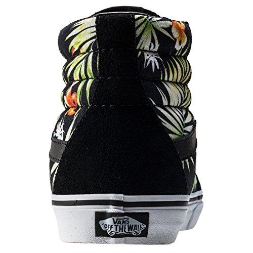 Vans Sk8-Hi Reissue Decay Palms Sneaker Herren (decay palms) black/true
