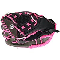 Franklin Sports Ligero de la serie Fastpitch Softball Glove, 30,5 cm, Pink/Gray