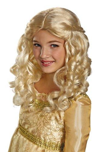 Aurora Child Wig (Aurora Erwachsene Kostüm Maleficent')