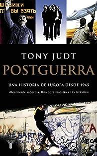 Postguerra par Tony Judt