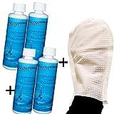 Letto ad acqua condizionatore Water Clean–4X 250ML Detergente per acqua materassi + Guanto