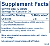 BodyBio Chlorella Micro-Algae Tablets, 300-Count