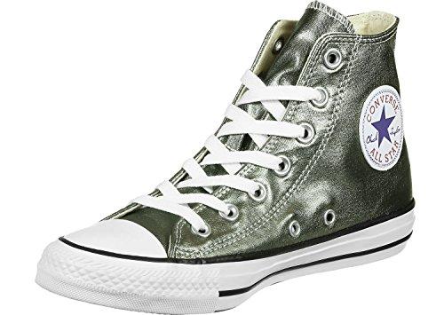 Converse Damen Chuck Taylor All Star Hightop Sneaker Silberfarben