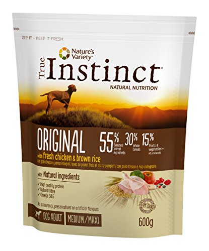 True Instinct Original - Mini Pienso para Perro Adulto con Cordero, 2 kg