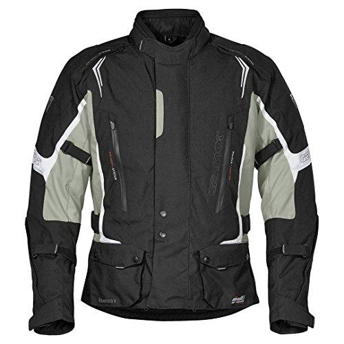 Germot RAVENNA II Motorrad Textiljacke Schw Grau, 3585007, Größe L