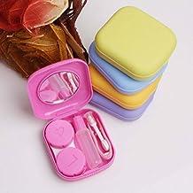 DaoRier Un Conjunto Color Random Delivery Almacenaje Del Recorrido Kit De Soporte Estuche Para Lentes De