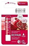 lavera Repair Lippenbalsam Granatapfel ∙ Soforthilfe gegen trockene & spröde