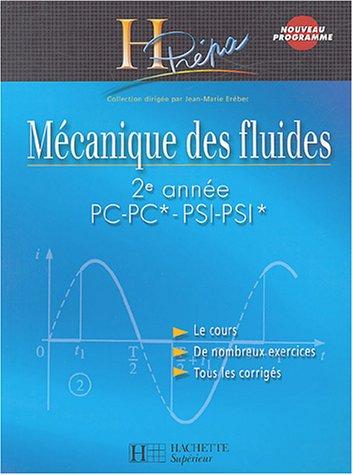 Mcanique des fluides 2e anne PC-PC*/PSI-PSI*
