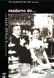 Madame De... [DVD]