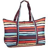 reisenthel mini maxi travelbag M artist stripes Maße: 65 x 41 x 26 cm / Volumen: 30 l