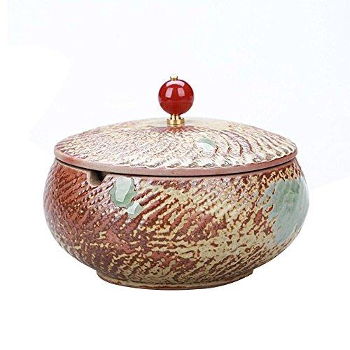 Chinesische Keramik Aschenbecher mit Einer Abdeckung kreative Geschenk Zigarre Rauch und Rauch eine kleine Couchtisch Hause Dekoration, 27 -