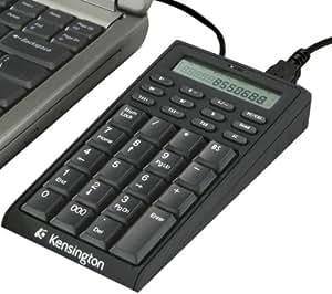 KENSINGTON Pavé numérique / calculatrice USB 72274EU + + Tapis de souris Jersey Cloth - argent + Hub USB 4 ports UH-10 .