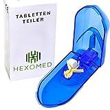 [Tablettenteiler] Verstellbarer Pillenschneider • für große und kleine Tabletten
