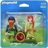 Playmobil Princess Elf and Dwarf Duo Pack - figuras de construcción (Playmobil, Multi, De plástico, Cualquier género)