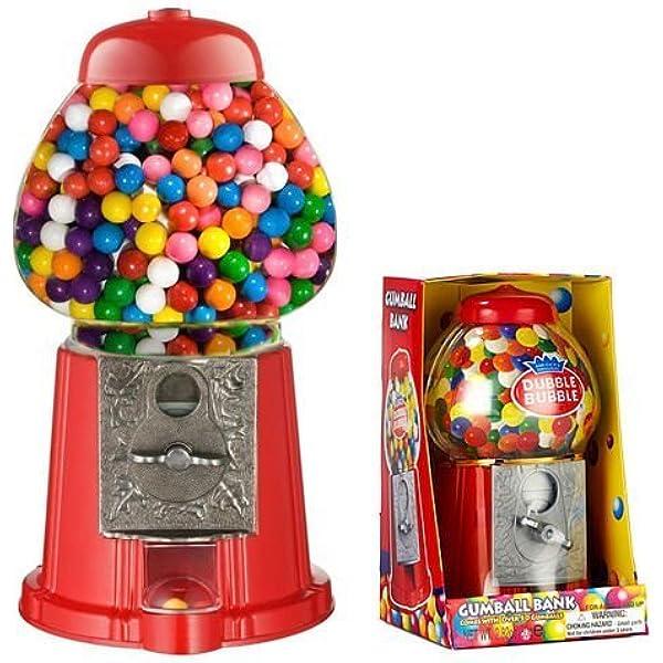 Gumball Vending Machine Candy Mini Snacks Bubble Gum Dispenser Kids fun Gift