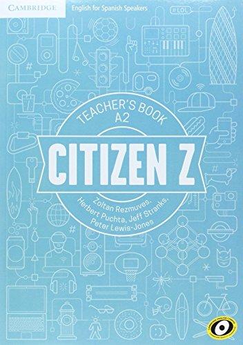 Citizen Z A2 Teacher's Book - 9788490365731