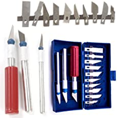 uptodateproducts Knife Set with Blade Hobby Arts Crafts Cutting Tooln (13Pcs)