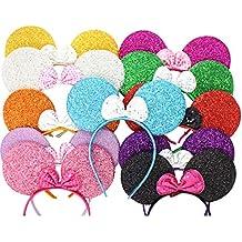 8 piezas Micky Minnie Mouse orejas, diadema, vestido de fantasía, despedida de soltera