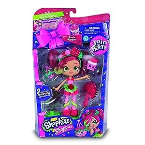 Shopkins - Shoppies S4 Join The Party muñecas, 4 Modelos Rosie Bloom (Giochi Preziosi HPP08000)