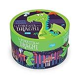 La foresta dei draghi. Ediz. a colori. Con puzzle gigante