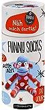 Näh mich fertig! Funny Socks: Affe Alfi (100% selbst gemacht)