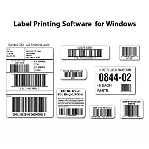 Barcode & Label Printing Software (CD) for Windows