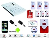 D3D Security System Burglar Alarm Wireless GSM Model:D9