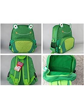 Diamond New Hot Sell Kinder-Zoo-Tier-Rucksack / Schultasche / Rucksack (Frosch)