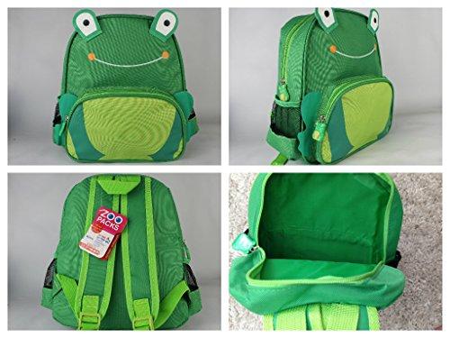Preisvergleich Produktbild Diamond New Hot Sell Kinder-Zoo-Tier-Rucksack / Schultasche / Rucksack (Frosch)