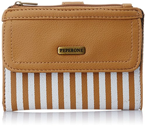 Peperone Women's Wallet (Tan)  available at amazon for Rs.465