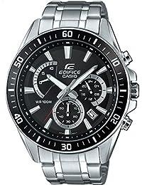 Casio Edifice – Reloj Hombre Analógico con Correa de Acero Inoxidable – EFR-552D-1AVUEF