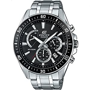 Casio Edifice – Men's Analogue Watch with Stainless Steel Bracelet – EFR-552D-1AVUEF