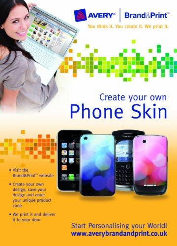 Avery Marke und Print Telefon Haut für iPhone und Blackberry Iphone Blackberry
