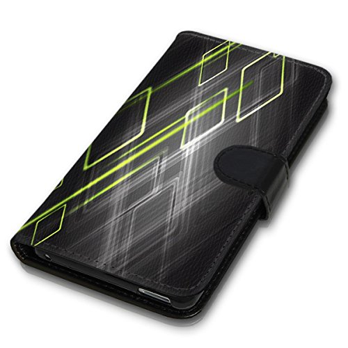 Wallet Book Style Flip Handy Tasche Case Schutz Hülle Schale Motiv Etui für Apple iPhone 6 / 6S - Variante UMV1 Design12 Design 8